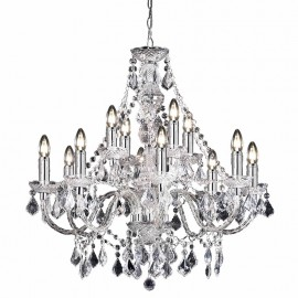 Endon Clarence 12 Light Chandelier