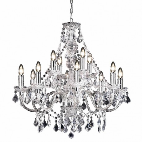 Clarence 12 Light Chandelier