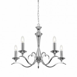 Endon Kora 5 Light Chandelier
