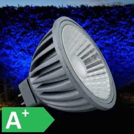 12V Blue 7W MR16 LED 550 Lumen