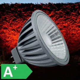 12V Red 7W MR16 LED 550 Lumen