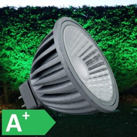12V Green 7W MR16 LED 550 Lumen