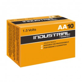 Duracell Industrial AA Batteries 10 Box