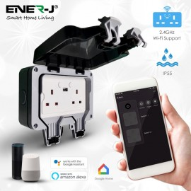 ENER-J WiFi IP66 Smart 2G Socket