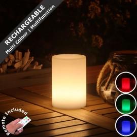 Smooz Tube Rechargeable LED RGB Table Light