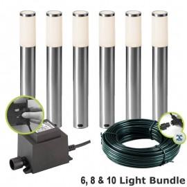 Techmar Techmar Lunia 12V Plug & Play LED Garden Post Light Kits