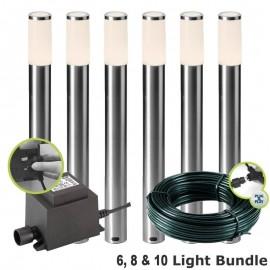 Techmar Techmar Silia 12V Plug & Play LED Garden Post Light Kits