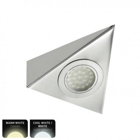 Triangle 12V LED Cabinet / Undershelf Downlight