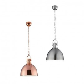 Copper | Satin Nickel Pendant Light