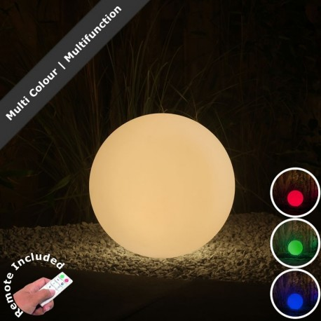 40cm LED Ball Light, Remote & Transformer