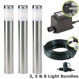 Albus 12V Plug & Play LED Garden Lighting Post Light Kit