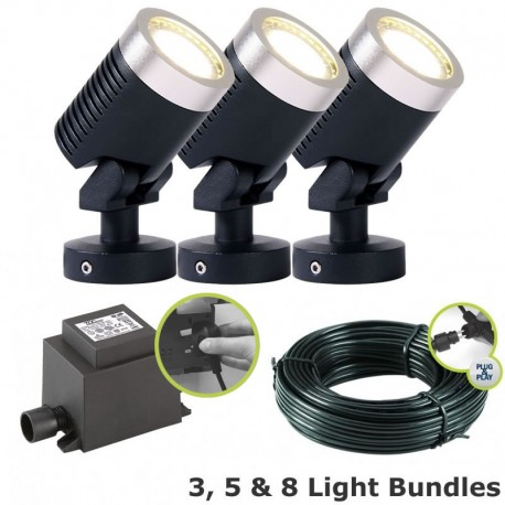 Arcus Garden Spotlight Kit