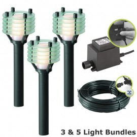 Techmar Larix Garden Post Light Kit