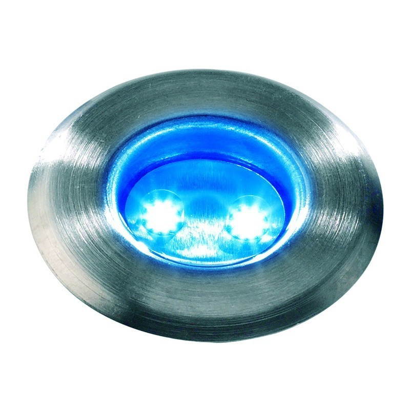 Techmar astrum blue 12v led garden deck light for 12v garden lights