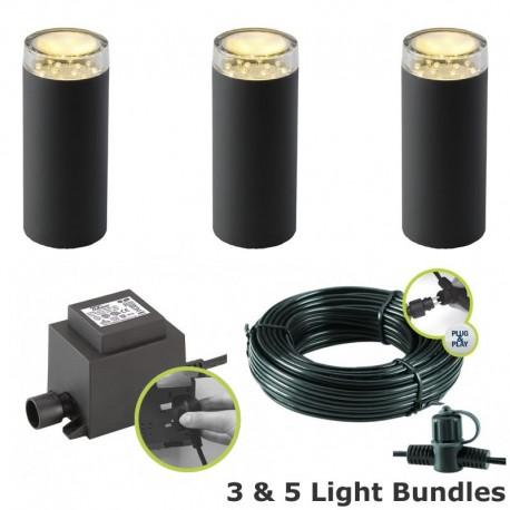 Linum Garden Post Light Kit