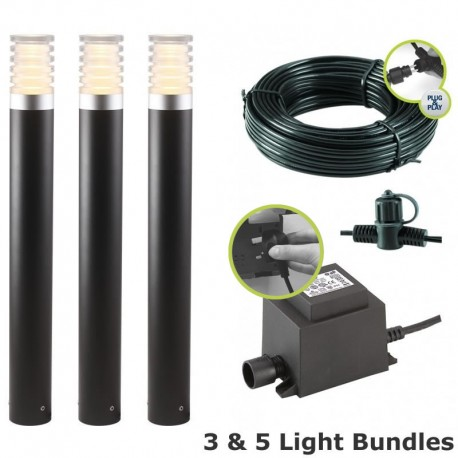 Arco 60 LED Garden Post Light Kit