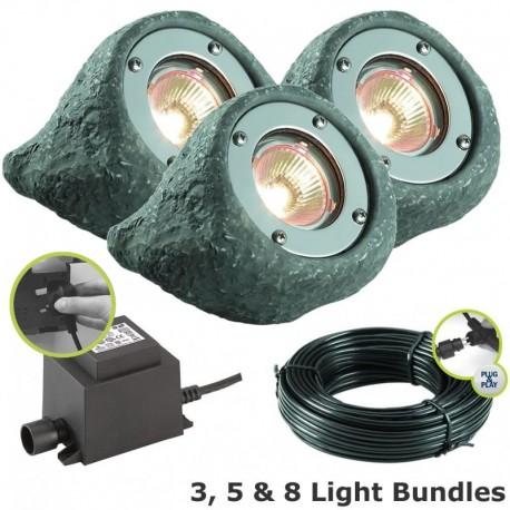 Lapis Waterproof LED Rock Spotlight Kit