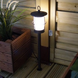 Locos Traditional 12V LED Garden Post Light