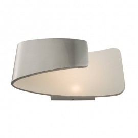 Endon Jenkins 7.5W Polished Aluminium Wall Light
