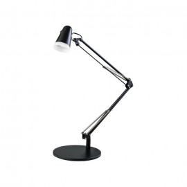 Downing Task Matt Black Table Lamp