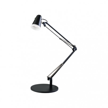Endon Lighting Downing Task Matt Black Table Lamp