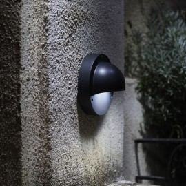 Techmar Deimos Warm White 12V LED Garden Wall Light