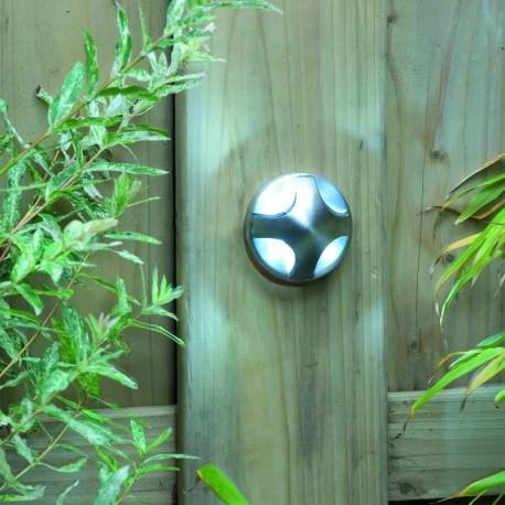 Lotus 12V LED Garden Wall Light