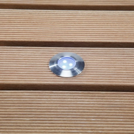 Alpha Blue 12V LED Garden Deck Light