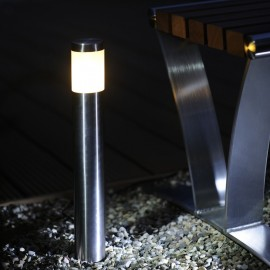 Techmar Albus Stainless Steel 12V LED Garden Post Light
