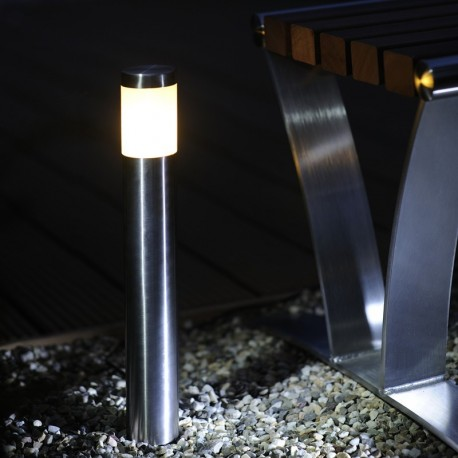 Albus Stainless Steel 12V LED Garden Post Light